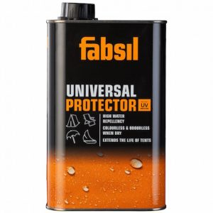 The Grangers Fabsil Universal Protector 1L is Sold by Devon Outdoor and The Camping and Kite Centre.