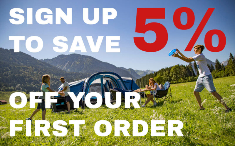 sign up to save 5% off your first order at Devon Outdoor