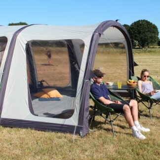 The Outdoor Revolution Airedale 6S Canopy is Sold by Devon Outdoor and The Camping and Kite Centre.