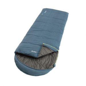 The Outwell Campion Lux Single Sleeping Bag is Sold by Devon Outdoor and The Camping and Kite Centre.