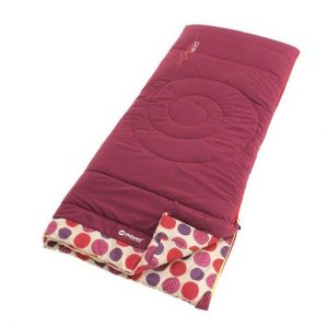The Outwell Circles Kids Sleeping Bag is Sold by Devon Outdoor and The Camping and Kite Centre.