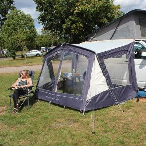 The Outdoor Revolution Sportline Canopi Lowline is Sold by Devon Outdoor and The Camping and Kite Centre.