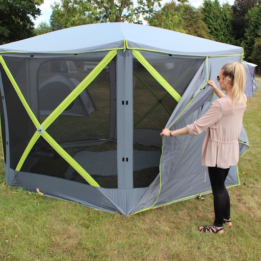 The Outdoor Revolution Screenhouse Privacy Panels are Sold by Devon Outdoor and The Camping and Kite Centre.