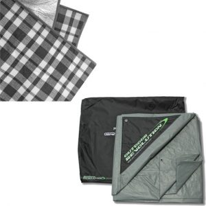 The Outdoor Revolution Snugrug and Footprint Bundle is Sold by Devon Outdoor and The Camping and Kite Centre.