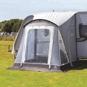 The Sunncamp Swift 260 Deluxe Caravan Awning is Sold by Devon Outdoor and The Camping and Kite Centre.