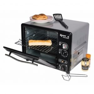 The Kampa Freedom Gas Cartridge Oven is Sold by Devon Outdoor and The Camping and Kite Centre.
