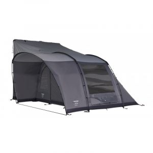 The Vango Noosa Tall Driveaway Awning is Sold by Devon Outdoor and The Camping and Kite Centre.