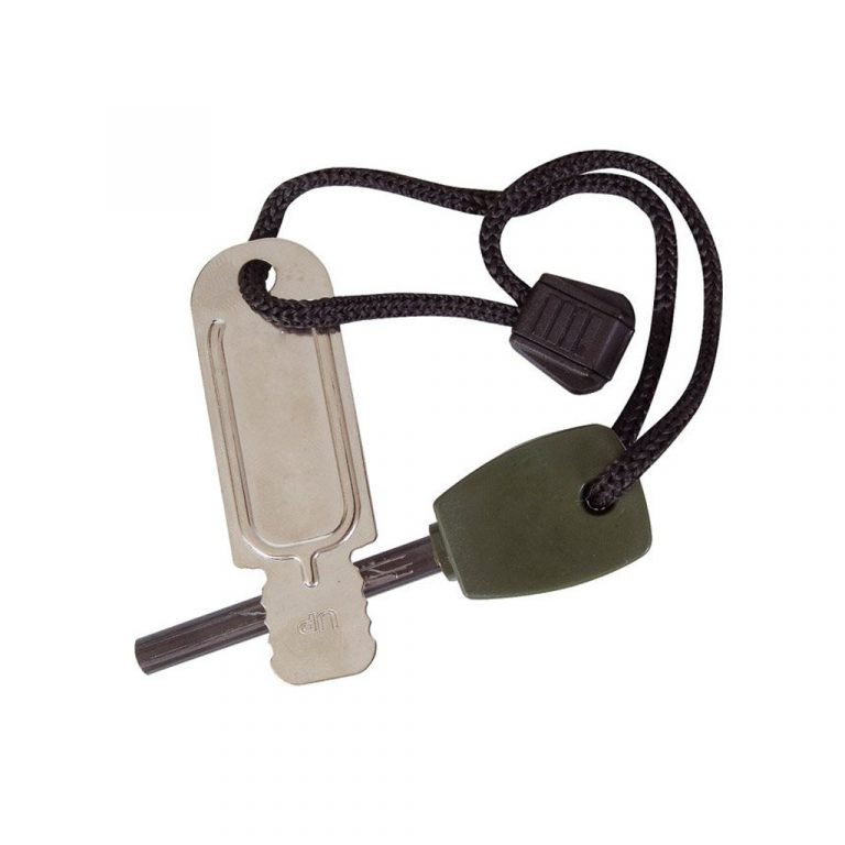 The KombatUK Large Army Fire Starter is Sold by Devon Outdoor and The Camping and Kite Centre.