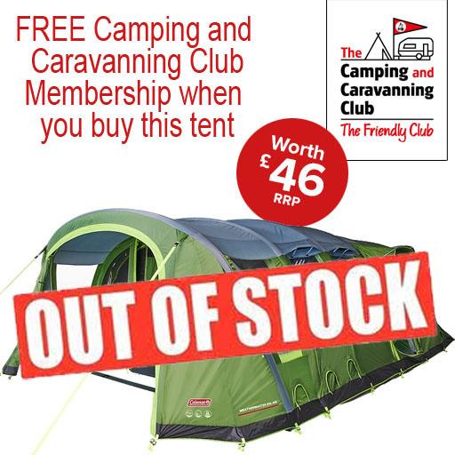 Coleman Weathermaster 6XL Air Tent