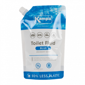 Kampa Blue Toilet Fluid - 1L Eco Pouch
