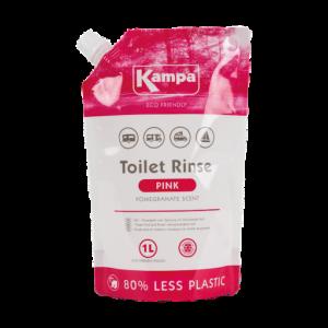 Kampa Pink Toilet Fluid - 1L Eco Pouch