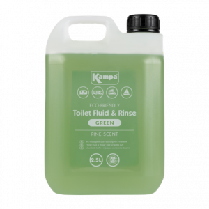 Kampa Green Toilet Fluid and Rinse 2.5L