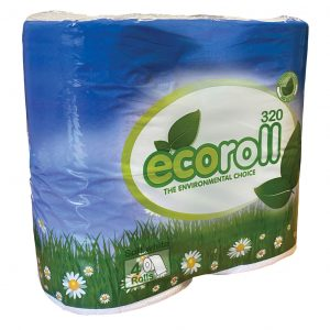 Ecoroll Quick Dissolve Toilet Paper - Pack of 4