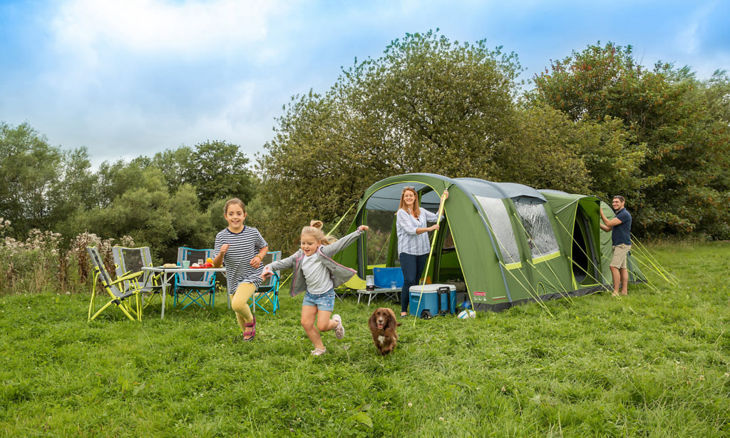 choosing a tent  - a great example of an air tent