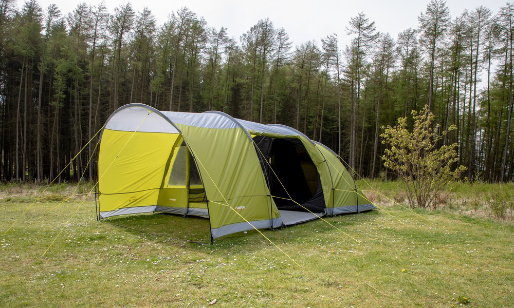 choosing a tent  - a great example of a poled tent