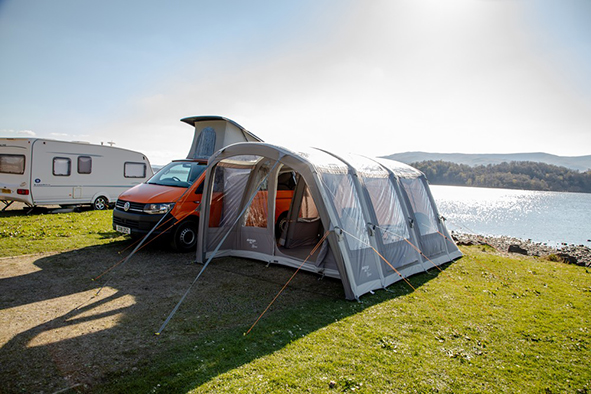 driveaway awning for campervan -Vango Rhone