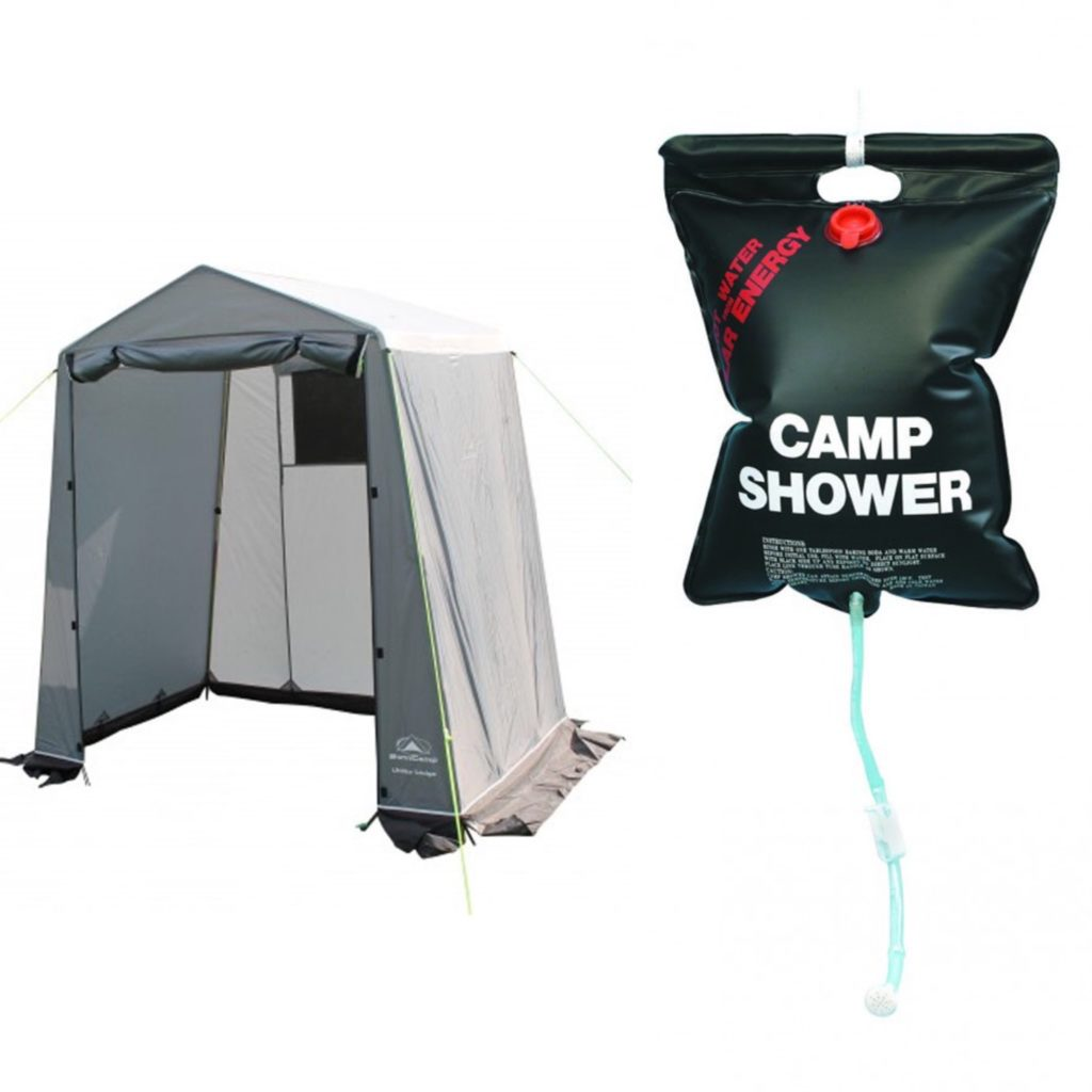 Camping and Covid Toilets and Showers
