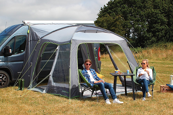 driveaway awning for campervan -Outdoor Revolution Cayman
