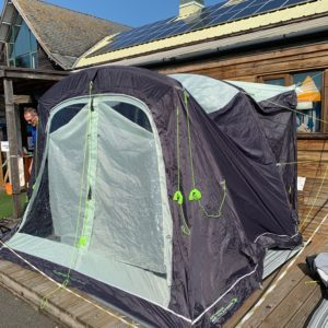 Once used Outdoor Revolution Turismo Driveaway Awning