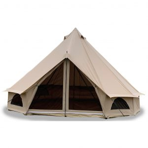 Quest 6m Canvas Bell Tent 2021