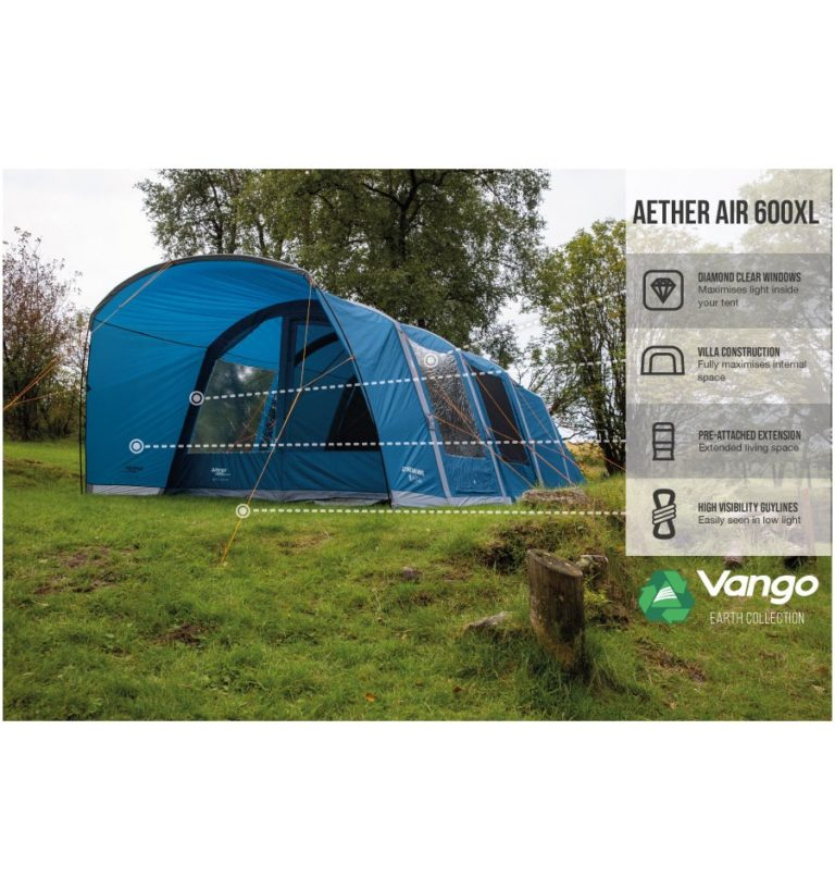 Vango Aether Air 600XL Tent 2021