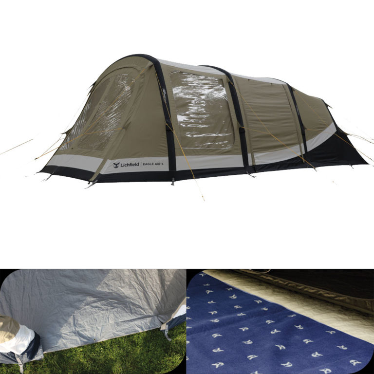 Lichfield Eagle Air 5 Tent Package