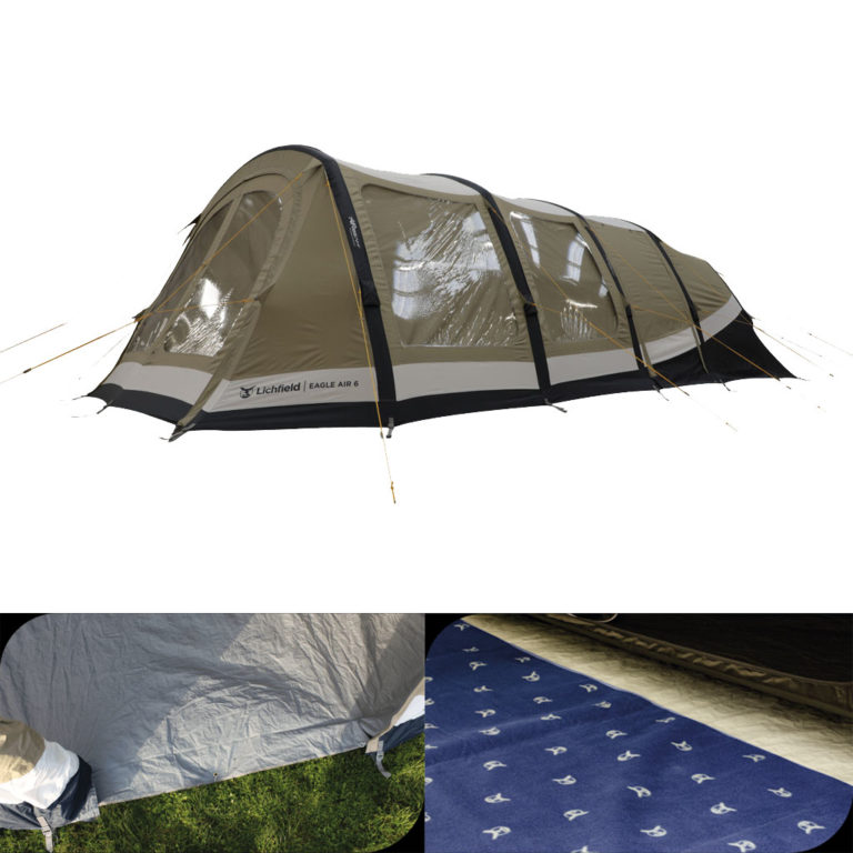 Lichfield Eagle Air 6 Tent Package