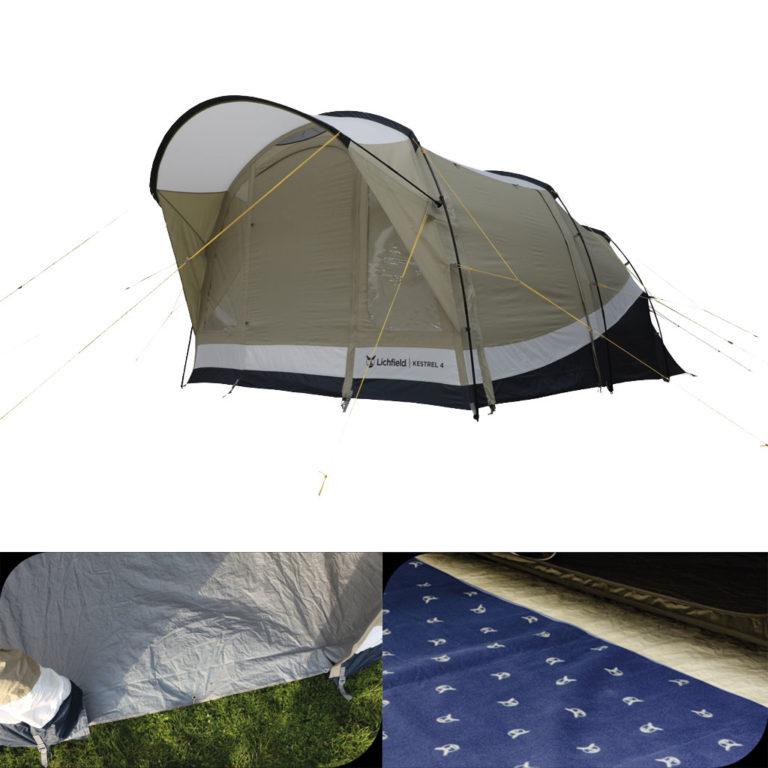 Lichfield Kestrel 4 Tent Package