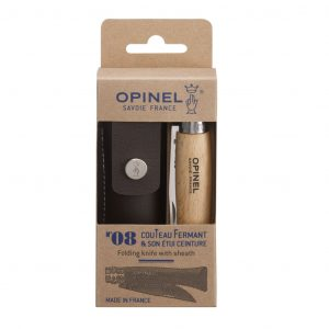 Opinel No.8 and Pouch