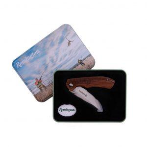 Remington Liner Lock Knife Gift Tin