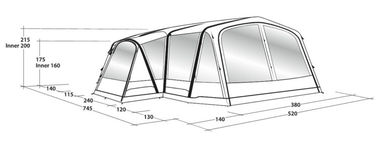 Outwell Airville 6SA Tent
