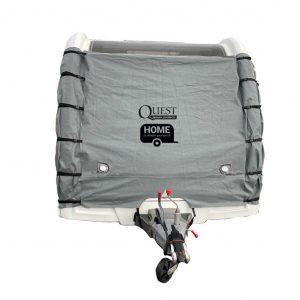 Quest Breathable Caravan Front Towing Cover