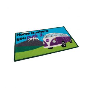 Quest Washable Home Is Where You Park It Mat (Campervan)
