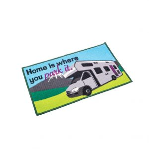 Quest Washable Home Is Where You Park It Mat (Motorhome)