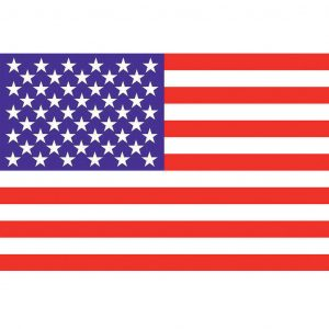 Spirit of Air American Stars and Stripes Flag