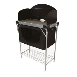 Highlander Steel Kitchen Stand and Cupboard