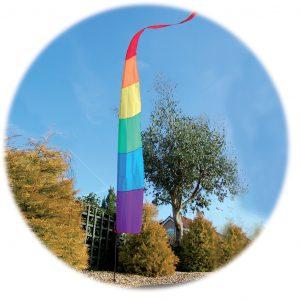 Spirit of Air Festival Banner Kit - Rainbow