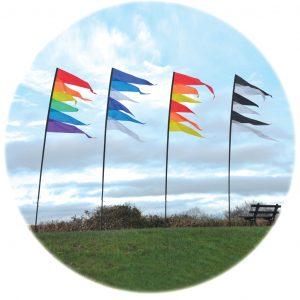 Spirit of Air Pendant Banner Kit - Rainbow